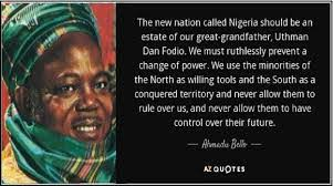 Amudu bello quote