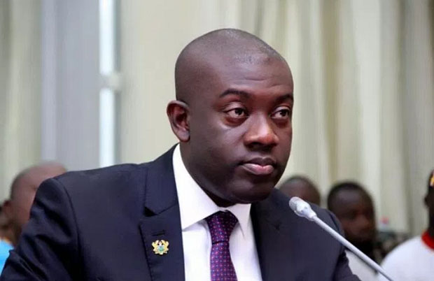 Ghana's deputy Minister for Information, Kojo Oppong-Nkrumah